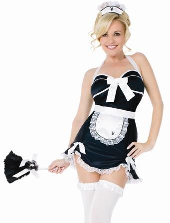 - Playboy French Maid Adult Costume (Medium)