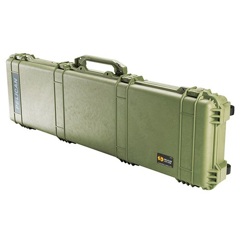 Pelican 1750 No Foam Long Case, One Size, Olive Drab Green