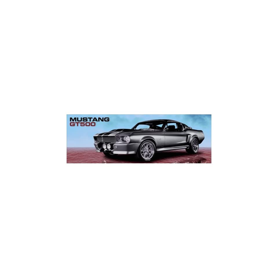 Ford Mustang Shelby GT500   Door Poster (Sky) (Size 62 x 21)