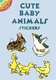 Cute Baby Animals Stickers, Nina Barbaresi, 0486433048