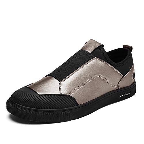 AIMENGA Herren Freizeitschuhe Freizeitschuhe Herren Herren Freizeitschuhe Herbst Herren Sets Füße Fashion Studenten Gold Plate Schuhe Herrenschuhe Herrenschuhe 4dd152