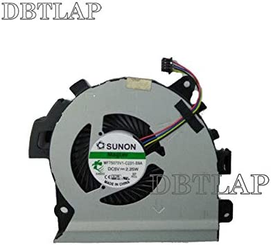GPU Fan MG75090V1-C060-S9A MG75090V1-C070-S9A Cooling Fan DBTLAP Fan Compatible for Dell Alienware 17 R4 R5 ALW17C CPU