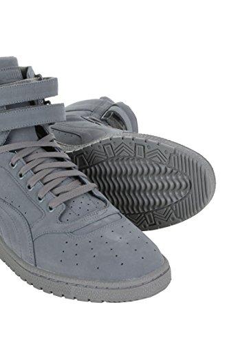 Puma Sky Ii Hi Mono Nbk Heren Sneakers 36197203-400 Staal Grijs / Wit