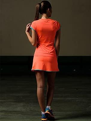 Camiseta padel Neon Coral mujer (S): Amazon.es: Deportes y aire libre