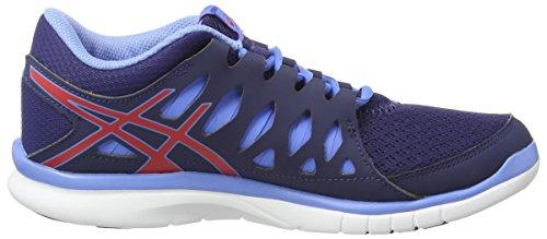 ASICS Gel-Fit Tempo 2 - Zapatillas de running para mujer Azul (Indigo Blue/Hibiscus/Powder Bl 4923)