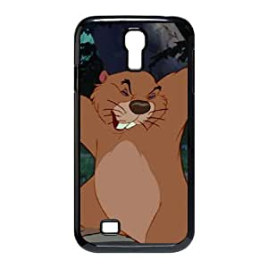Samsung Galaxy S4 9500 Cell Phone Case Black Lady and the Tramp Character Beaver K3954783