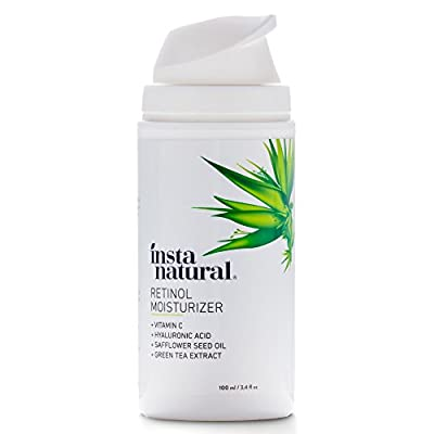 InstaNatural Retinol Moisturizer Anti Aging Night Face Cream - Face & Neck Wrinkle Lotion - Reduce Appearance of Wrinkles, Dark Circles, Fine Lines &.