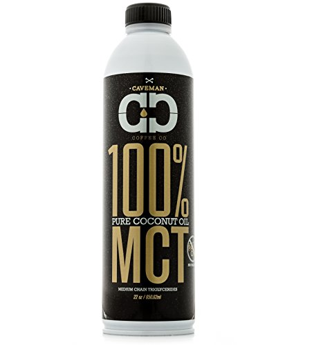 Caveman Coffee MCT Oil, Made from 100% Coconut Oil, Medium Chain Triglyceride, Caprylic (C8) & Capric (C10), Sustainably Sourced, Paleo & Keto, 22 oz Review