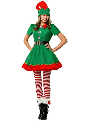 Women's Holiday Elf Costume Bundle Large - http://coolthings.us
