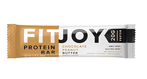 Fitjoy Protein Bar; Chocolate Peanut Butter (5 pack)