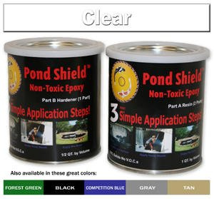 Pond Armor Pond Shield Epoxy 1-1/2 Quart Kit - Clear