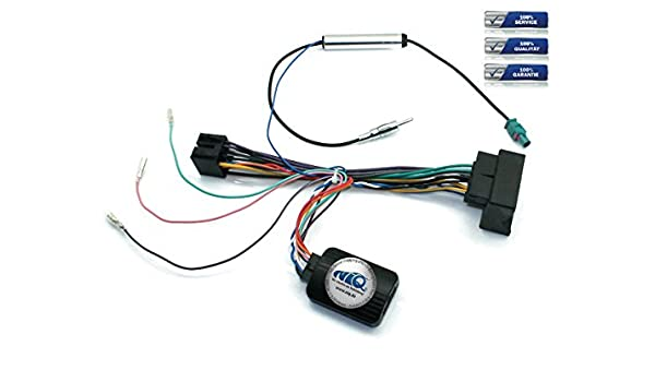 Interfaz de control del volante de tallo Cable Adaptador Para Seat Toledo