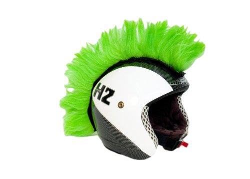 Cresta verde adhesiva para casco. Accesorio: Amazon.es: Deportes y aire libre