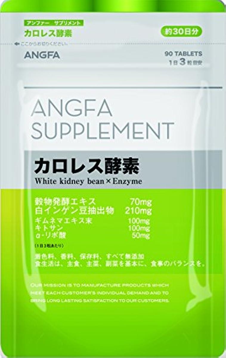 [해외] 앤 퍼(fur) (ANGFA) 서플리먼트 카로 레스 효소 90알 다이어트 서포트 서플리먼트