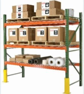 Wireway Husky, Pallet Rack Beams - 8 Ft Long, Prbm96-6, Size: 4.5 X 96, Capacity: 6,111, Weight: 26, Ibx43096