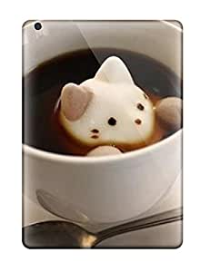 High-quality Durable Protection Case For Ipad Air(cat Cute Food Kawaii Coffee) by ruishername