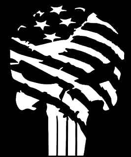 Amazoncom American Flag Pledge Of Allegiance Vinyl Truck Window - Decals for trucks