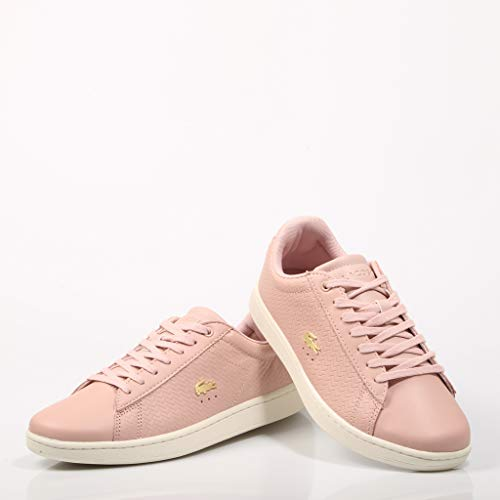 Carnaby Lacoste Rosa nat Donna Wht 3 Evo Ts2 off Sfa Sneaker 119 41Cw1qxT