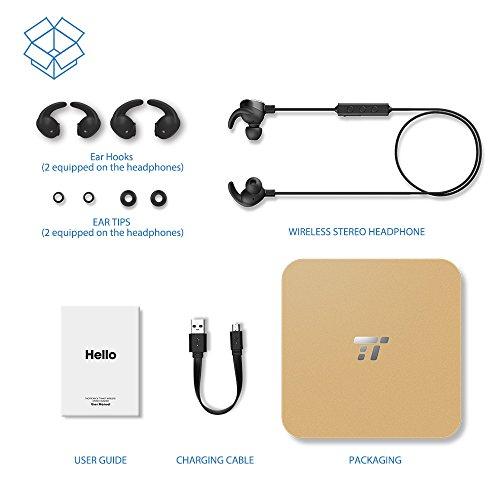 best taotronics bluetooth headphones wireless in ear. Black Bedroom Furniture Sets. Home Design Ideas