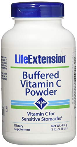 Life Extension Buffered Vitamin C Powder 454 Grams