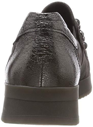 fucile Shoes Gris 19 Femme pepper Gabor Basses Sneakers Casual S0cWavdq6