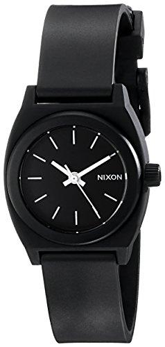 Nixon Women's A425000 Small Time Teller P Watch, Black