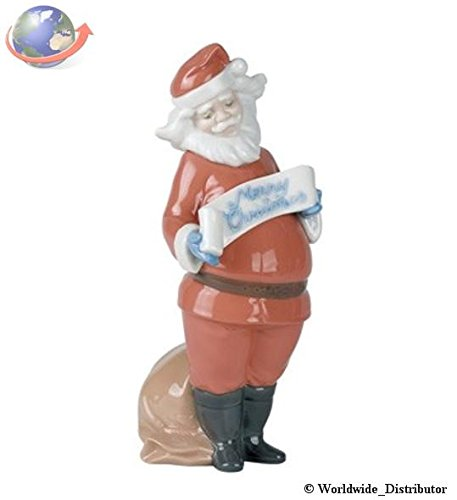 Nao by Lladro #1399, Santa's Best Wishes