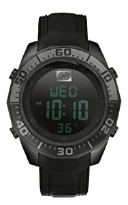 Marc Ecko Men's E13517G2 The Equation Digital Black Resin Strap Watch