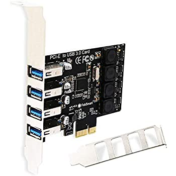 Amazon.com: FebSmart 2 Ports USB 3.0 Super Fast 5Gbps PCI ...