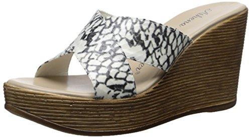 Athena Alexander Women's RIALTO Wedge Sandal - Python Sna...