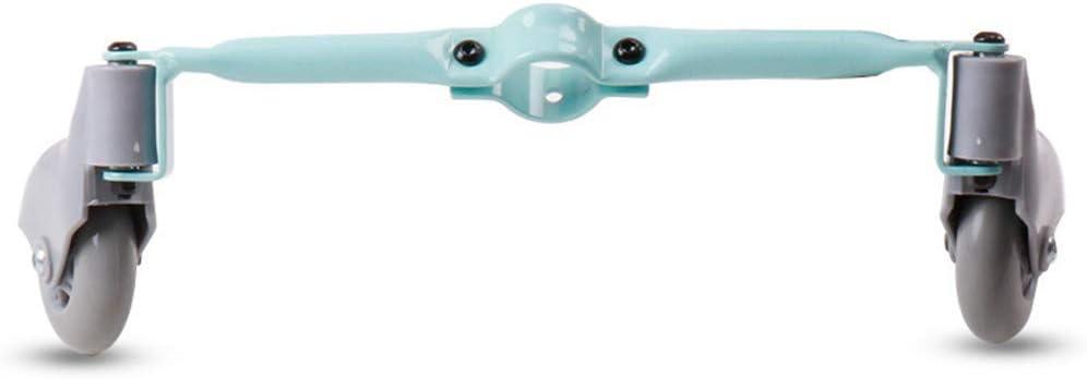 jiheousty Cochecito de bebé para niños Rueda Auxiliar Accesorios de Triciclo para niños Desmontables portátiles