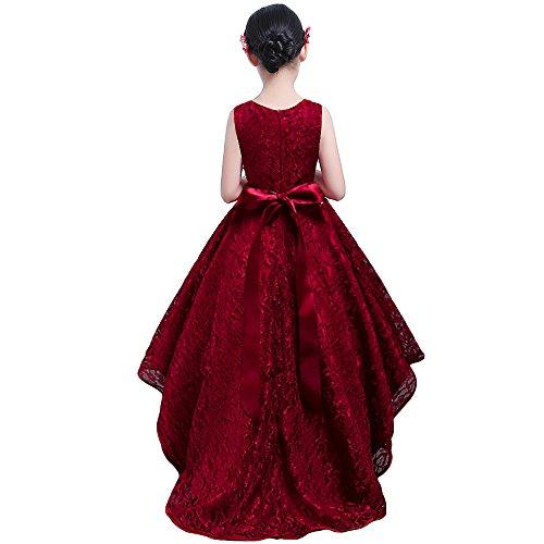 HUAANIUE Vestido de noche para niños Disfraces Vestido de novia: Amazon.es: Ropa y accesorios