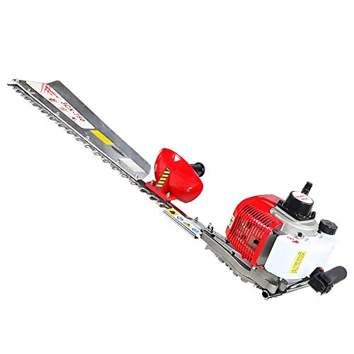 Rbaysale 26CC Gas-Powered Hedge Trimmer Machine, 25.9inch Long-Reach Hedge Trimmers Tree Lawn Pruning Machine Greening Tool for Trimming Fences, Shrubs, Thorns