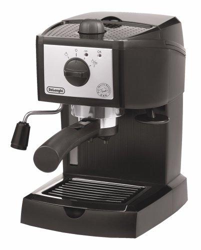 DeLonghi espresso / cappuccino maker black x silver EC152J