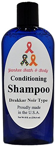 Conditioning Shampoo, 2 in 1 Shampoo and Conditioner, 8 ounce (Drakkar Noir (Drakkar Scented Shampoo)