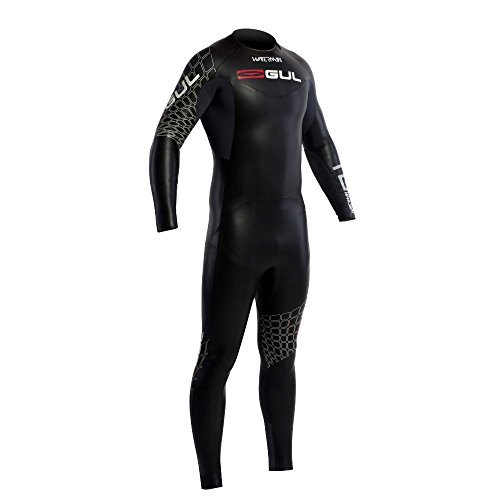Gul Waterman 5/4mm TRI Swim SUIT in Black/Graphite TR1201