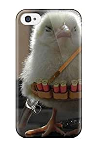 5c Scratch-proof Protection Case Cover For Iphone/ Hot Funny Chicken Phone Case