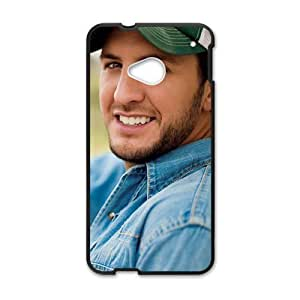 American Country Singer Luke Bryan Cell Phone Case for HTC One M7