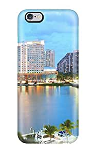 Dan Larkins Protective Case For Iphone 6 Plus(miami Florida) by mcsharks
