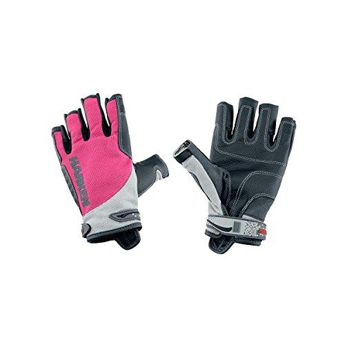 Harken Sport Spectrum 3/4 Finger Gloves, Pink, Medium