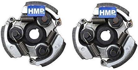 Hmparts 2x Fliehkraftkupplung Kupplung 47 49 Ccm Pocket Bike Dirt Bike Atv Quad Auto
