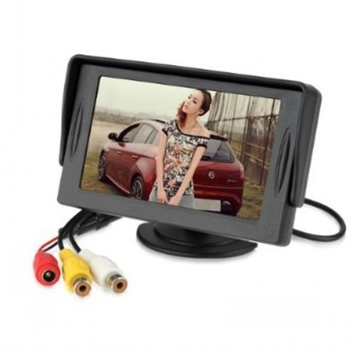 Cutelook TM 4.3 Inch LCD TFT Rearview Monitor screen for Car Backup Camera