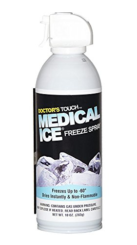 Doctor's Touch Medical Ice Freeze Spray for Skin Tags, Warts, and Moles