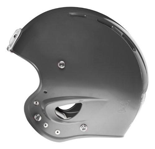 silver football helmet - 2