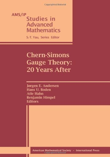 Chern-Simons Gauge Theory: 20 Years After (Ams/Ip Studies in Advanced Mathematics) by Jorgen E. Andersen (2011-07-07)