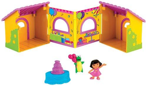 Fisher-Price Dora Fold and Surprise Birthday Fiesta, Baby & Kids Zone