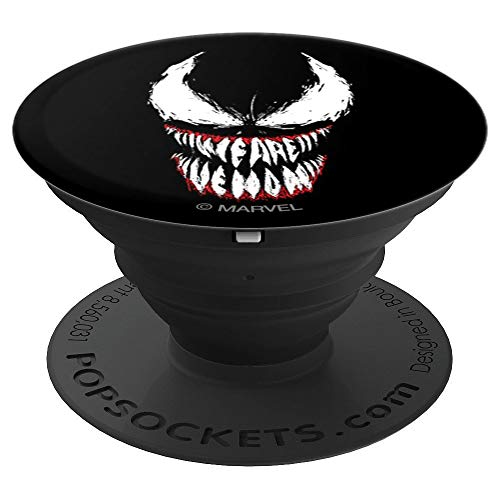 (Marvel We Are Venom Face Grin - PopSockets Grip and Stand for Phones and Tablets)