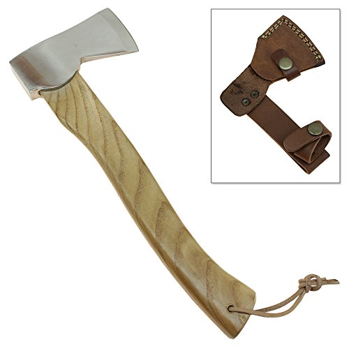 Hiking  Camping Hatchet Handmade Stainless Steel Travel Viking Axe