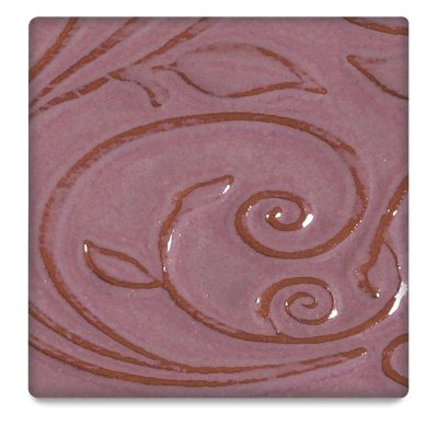 Amaco Opalescent Low Fire Glaze for Bisque - Fuschia (O-52) - Pint