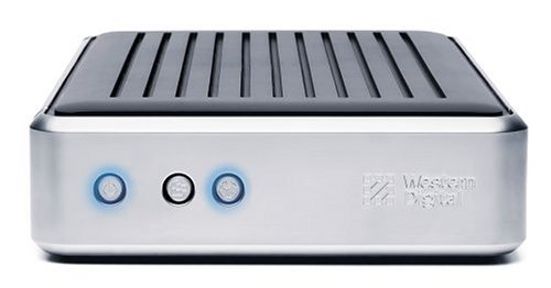 WD 80 GB External USB 2.0 Hard Drive with Dual Option Backup by Western Digital